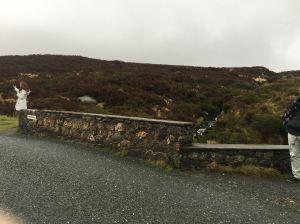 The famous bridge. Where's Gerard Butler?