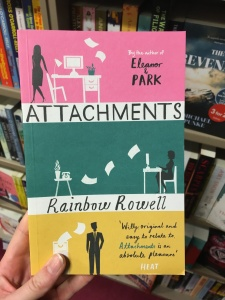 I mean, look at this lovely copy of Attachments!