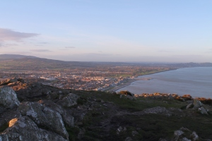 From the tippy top of Bray Head, you can see all of Bray plus some neighboring towns along the coast.