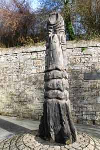 I'm still not exactly sure what this statue is, but we saw it outside the Trim Castle.
