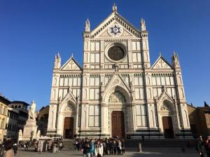 Oh, and churches. There were lots of churches, too. This one is Santa Croce.