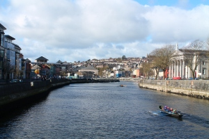 Don't worry, the fun stuff is coming. For now, here's a view from Cork City.