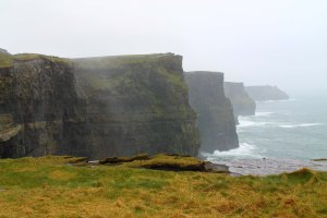 Spoiler Alert: The Cliffs of Moher were our next stop!