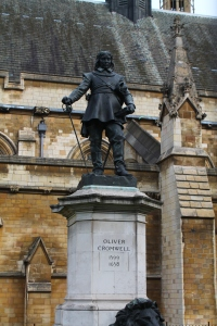 Fun Fact: This is a statue of Oliver Cromwell, the guy that everyone hates in Ireland. He burned a bunch of villages and killed a lot of people in the Emerald Isle, but apparently in Britain he's cool enough to get a statue.