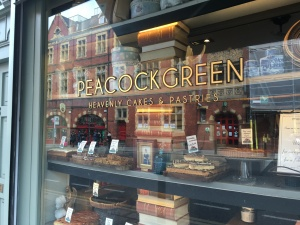 Here's a picture of Peacock Green instead. They make great vanilla chai lattes.